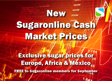 New Sugaronline Cash Market Prices Service